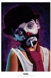 Tramp Clown Boy Art Print