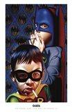 Batman and the Boy Blunder II Art Print