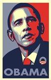 RARE Obama Campaign Poster - OBAMA Art Print