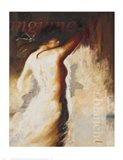 Sanguine et Blanche Art Print