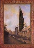 Volterra Tapestry I Art Print