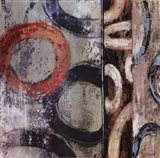 Retro Abstract II Art Print