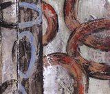Retro Abstract III Art Print