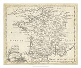 Map of France Art Print