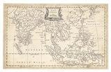 Map of East Indies Art Print