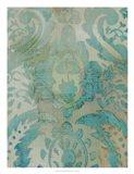 Velvet & Damask III Art Print