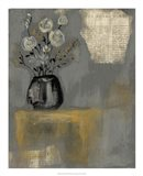 Floral Salon II Art Print