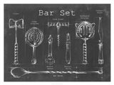 Bar Set Art Print
