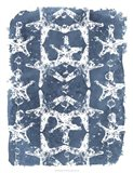 Batik Shell Patterns II Art Print