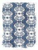Batik Shell Patterns III Art Print