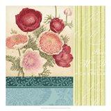 Floral Montage I Art Print
