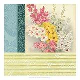 Floral Montage II Art Print