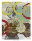 Layers & Circles I Art Print