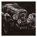 Vintage Grand Prix I Art Print