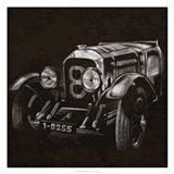 Vintage Grand Prix II Art Print