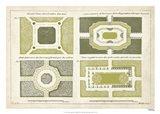 European Garden Design I Art Print