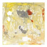 Lemon Jostle I Art Print