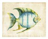 Aquarium Fish I Art Print