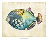 Aquarium Fish IV Art Print
