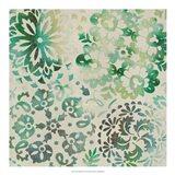 Moss Medallions II Art Print