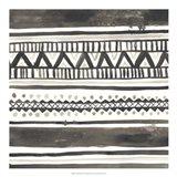 Tribal Echo I Art Print