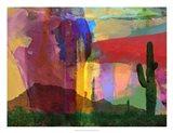 Mesa Abstract Art Print
