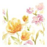 Floral Song I Art Print