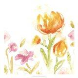 Floral Song II Art Print