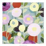 Poppy Strata I Art Print