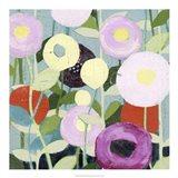 Poppy Strata II Art Print