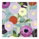Poppy Strata III Art Print