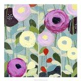 Poppy Strata IV Art Print