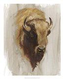 Western American Animal Study III Art Print