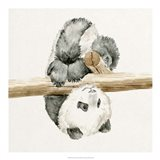 Baby Panda II Art Print