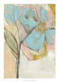 Impasto Flower I Art Print