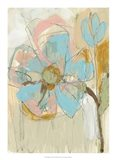 Impasto Flower II Art Print