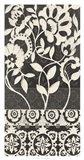 Midnight Batik I Art Print