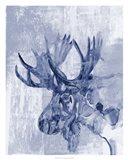 Indigo Moose Art Print