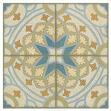 No Embellish* Old World Tiles I Art Print