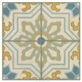 No Embellish* Old World Tiles III Art Print