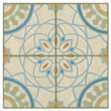 No Embellish* Old World Tiles IV Art Print