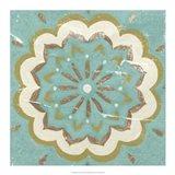 Rustic Tiles I Art Print