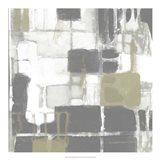 Neutral Quadrants II Art Print