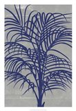 Chromatic Palms I Art Print