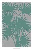Chromatic Palms II Art Print