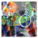 Lakewood Bikes - Dallas Art Print