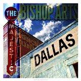 Bishop Art - Dallas Art Print