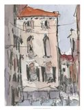Venice Watercolors III Art Print