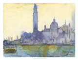 Venice Watercolors VI Art Print