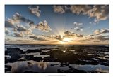 Waipouli Sunrise Art Print